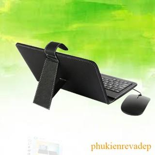 Bao da bàn phím có chuột cho điện thoại, máy tính bảng dòng Android