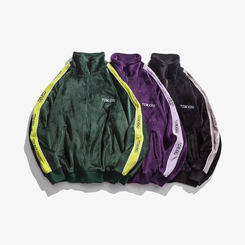 Áo Khoác lông unisex siêu ấm có thể mặc đôi