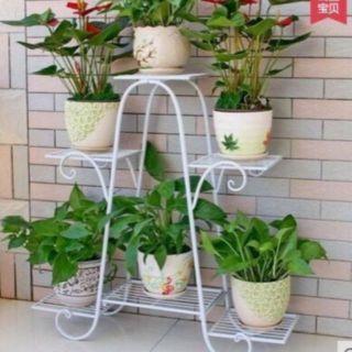 7ke chậu hoa 6tâng trang trí nha cửa noi thất hang lang loi vao