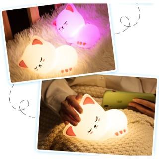 Đèn Silicon mèo con