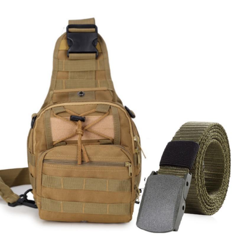Thắt lưng dù chiến thuật và túi đeo ngực đi phượt phong cách Quân đội Mỹ + Tặng 1 móc khóa da cao cấ - 3065603 , 789059775 , 322_789059775 , 612000 , That-lung-du-chien-thuat-va-tui-deo-nguc-di-phuot-phong-cach-Quan-doi-My-Tang-1-moc-khoa-da-cao-ca-322_789059775 , shopee.vn , Thắt lưng dù chiến thuật và túi đeo ngực đi phượt phong cách Quân đội Mỹ + T