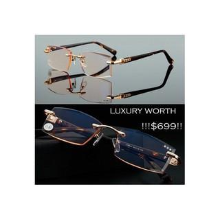 Luxury men diamond cutting men reading glasses +1 +1.5 +2 +2.5 +3