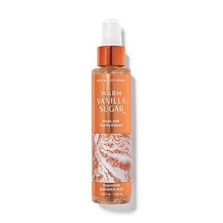 [Auth] Xịt thơm lưu hương toàn thân có nhũ Bath and Body Works Diamond Shimmer Mist – Warm Vanilla Sugar 145ml