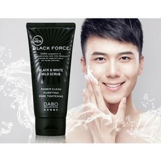 Sữa Rửa Mặt Nam Than Hoạt Tính Black Force Dabo Hàn Quốc (120ml) thumbnail
