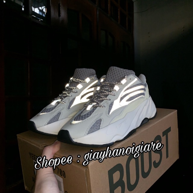 | Ảnh Thật | Giày Thể Thao Yeezy 700 Static Nam Nữ Lót 3 Màu