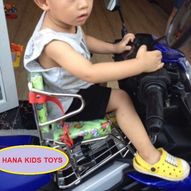 🏍 Ghế ngồi xe máy 🏍 Xe Số, Yên Nệm, Không Tựa,Có tựa,Có Vòng,Có Gác Chân,An Toàn Cho Bé