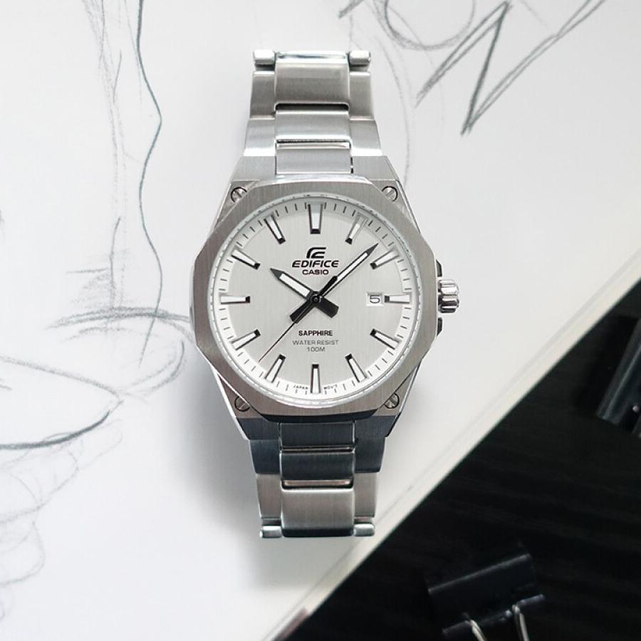 Đồng hồ dây thép Casio Edifice Nam EFR-S108D-7AVUDF chính hãng bảo hành 1 năm Pin trọn đời