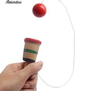 👍COD✅Antarctical Japanese Traditional Kendama Ball Game Balance Skill Toy