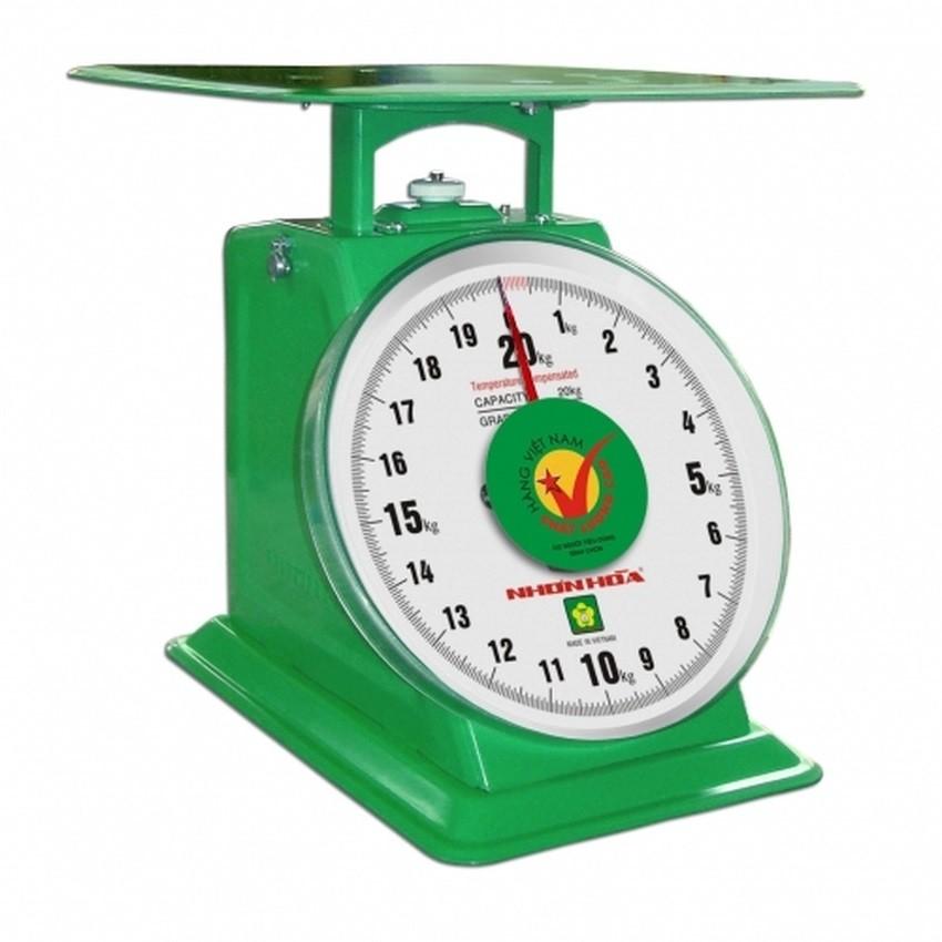 Cân đồng hồ lò xo Nhơn Hòa 20kg NHS-20