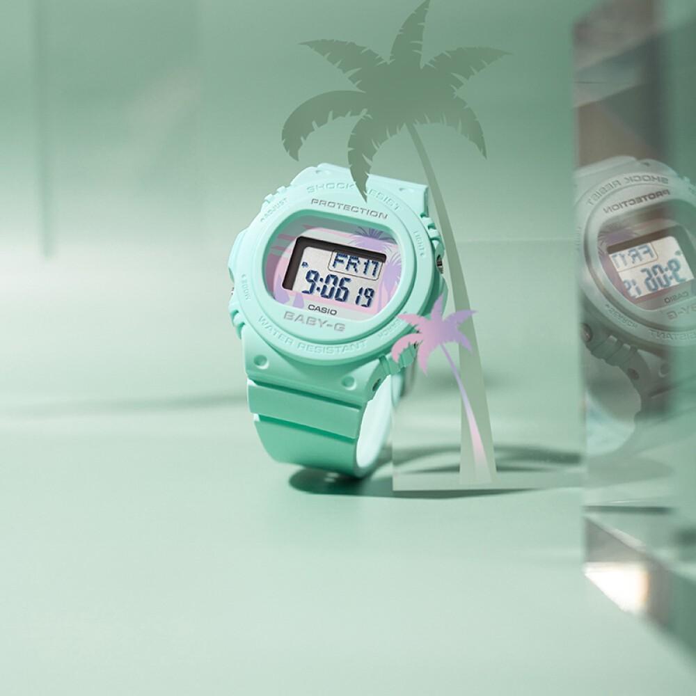 Đồng hồ nữ dây nhựa Casio Baby-G chính hãng Anh Khuê BGD-570BC-3DR