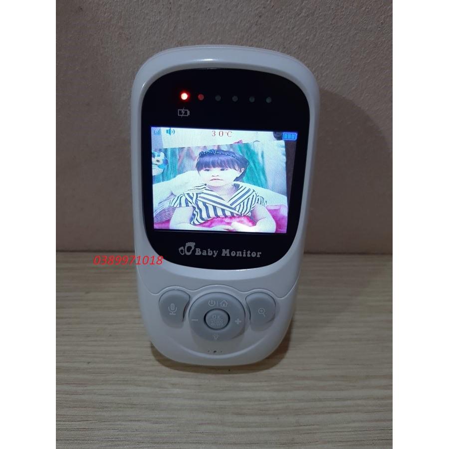 Máy báo khóc - Camera giám sát trẻ em thông minh Có tích hợp nhiệt kế