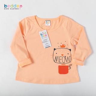 Áo thun dài tay Beddep Kids Clothes in hình cao cấp cho bé gái BP-G05 thumbnail