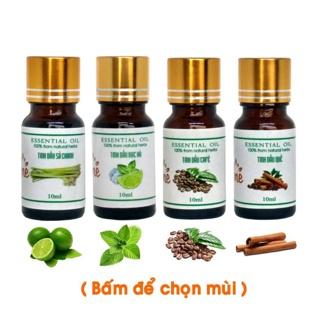 """Chai 10ml _ Tinh Dầu Nguyên Chất (có thể chọn mùi) giá chỉ còn <strong class=""""price"""">1.100.000.000đ</strong>"""