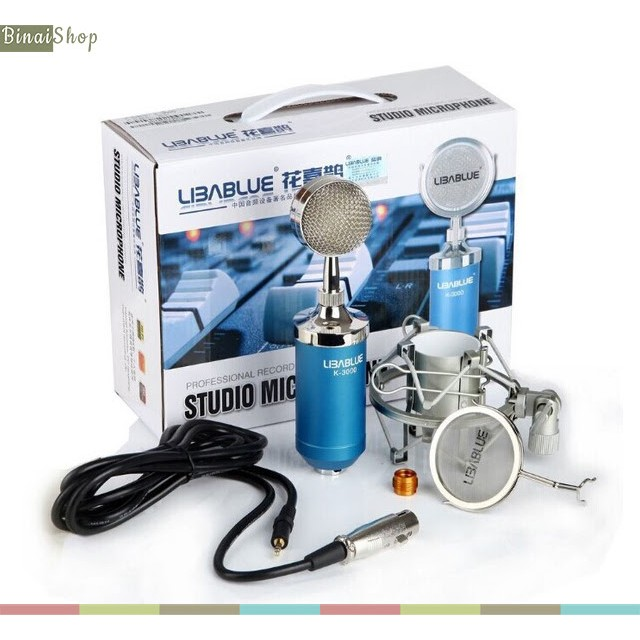 Micro thu âm cho máy tính Libablue K-3000