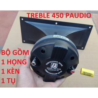 BỘ TREBLE RỜI PAUDIO 450 - 1 CỦ TREBLE KÈM HỌNG 11X28 TỤ 2,2MF - LOA TREBLE 450