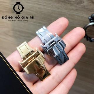 [ĐỦ MÀU-ĐỦ SIZE] Khoá bướm đồng hồ chính hãng - KHOÁ INOX KHÔNG GỈ - KHÔNG PHAI MÀU - BH 1 NĂM thumbnail