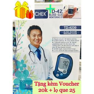 Máy đo đường huyết Clecver Check TD-4230 - Công nghệ từ Đức - Bảo hành trọn đời - Hàng chính hãng thumbnail