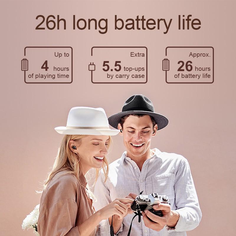 Tai Nghe Bluetooth True Wireless Haylou GT1 PRO Bluetooth 5.0 Phiên bản nâng Cấp Chính Hãng - Minh Tín Shop