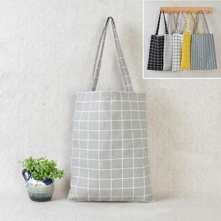 Túi đeo vai chất liệu vải lanh nhiều màu sắc lựa chọn dành cho nữ