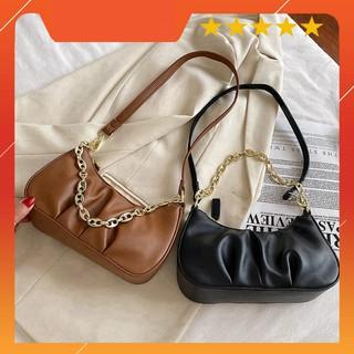 Túi xách nữ kẹp nách, túi xách đeo vai da mềm siêu xinh thời trang Hàn Quốc KN03 - Chip Xinh