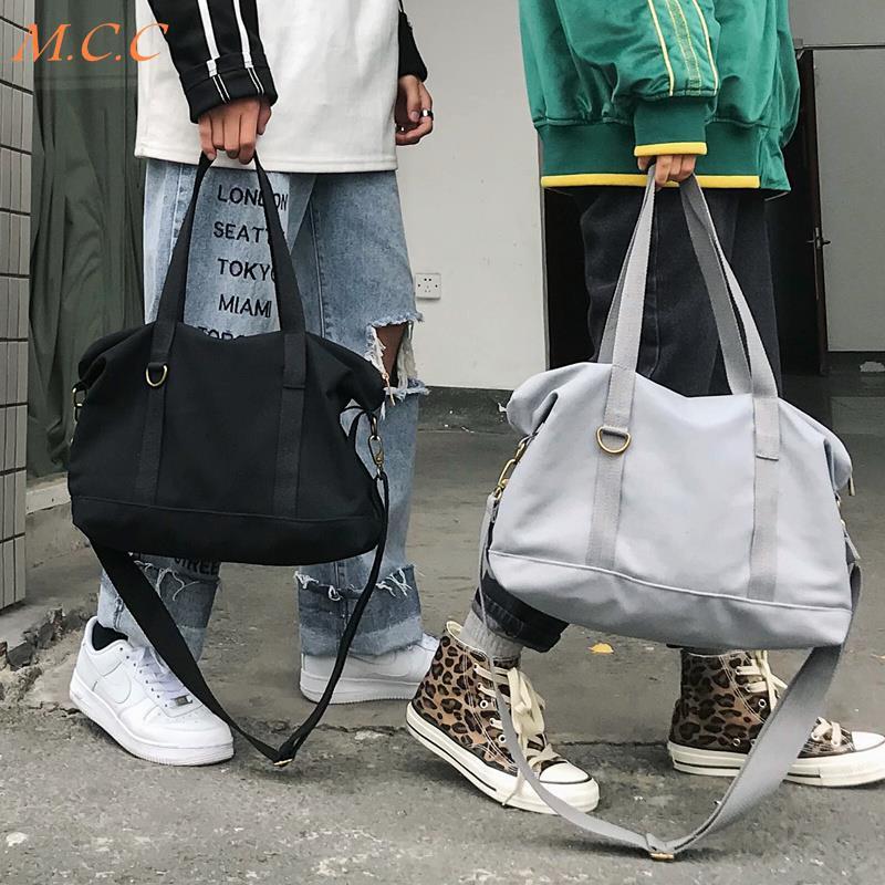 กระเป๋าผ้าใบสะพายไหล่ความจุขนาดใหญ่ messenger