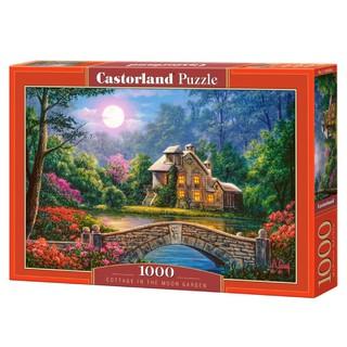 C104208 Xếp hình Cottage in the Moon Garden 1000 mảnh CASTORLAND