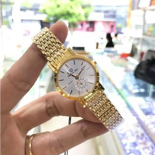 Đồng hồ nữ OLYMPIA STAR 58082-04MSK vàng full hộp chính hãng, kính sapphire chống xư thumbnail