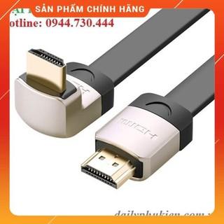 [Mã ELFLASH5 giảm 20K đơn 50K] Cáp HDMI 1 đầu bẻ góc 90 độ dài 1m UGREEN 10281 dailyphukien