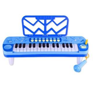 🌟🌟 Đồ Chơi Đàn Organ Mini Lezile Xanh Dương / Hồng 32phím 🌟🌟