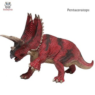 BOLAFYNIA Children Toy Dinosaur Simulated Pentaceratops baby kids for Christmas