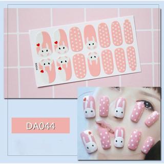 Sticker dán trang trí móng tay họa tiết dễ thương - sticker dán móng tay cute - miếng dán trang trí móng tay thumbnail