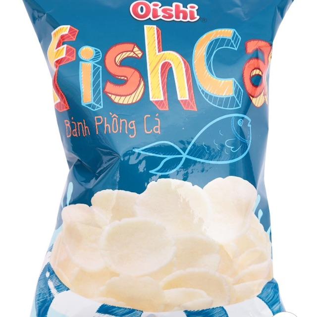 Snack Bánh Phồng Cá Oishi Gói 80G