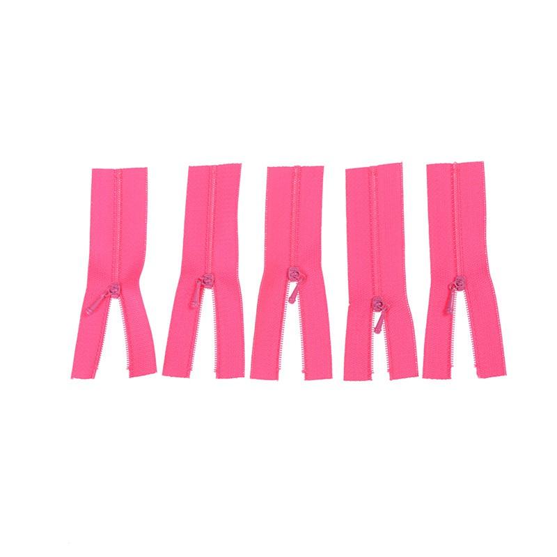 adore 5Pcs Mini Zipper for Doll Dress Bags DIY Craft Sewing Accessories Tools Gift craving