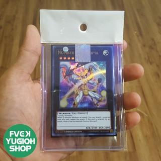 Thẻ bài trò chơi / Lá bài yugioh – DUPO-EN104 Number 39: Utopia – Ultra Rare