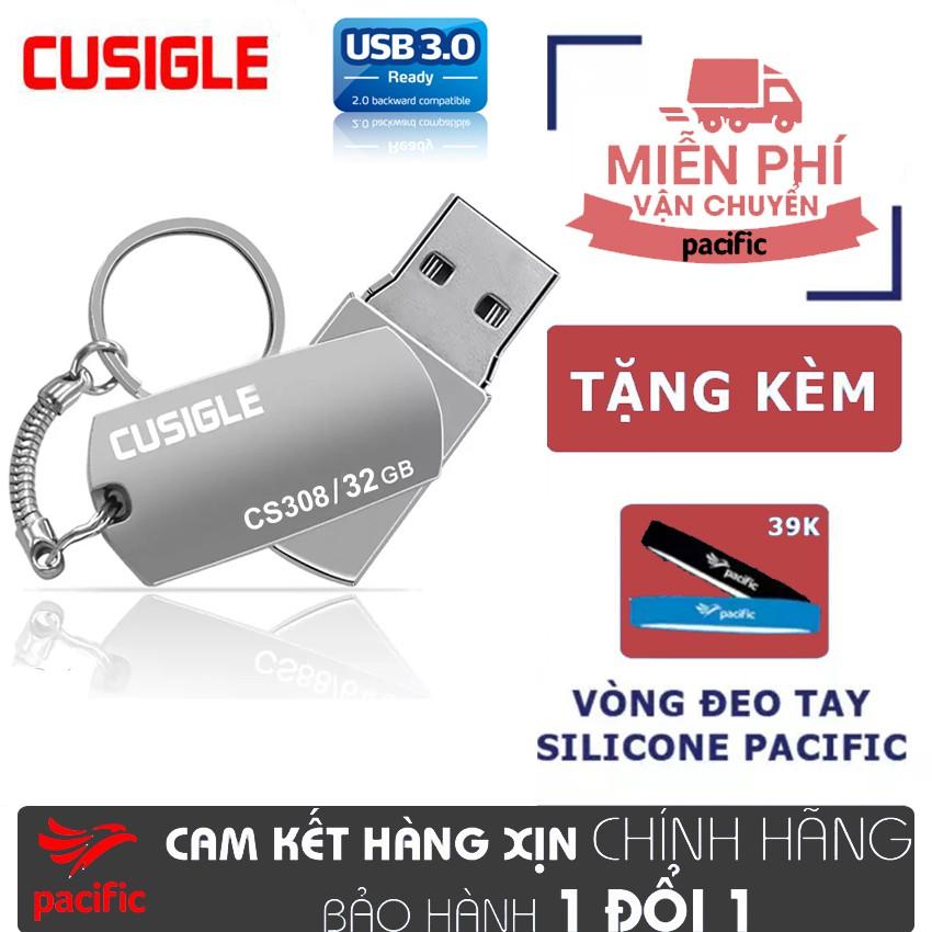 USB 3.0 32Gb Cusigle CS308 2019 – Tặng Que Chọc Sim Pacific Giá chỉ 115.000₫
