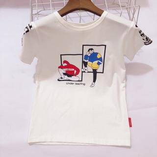 Áo phông cộc tay bé trai 4-12 tuổi