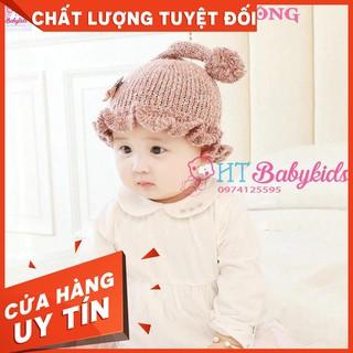 [ MẪU HOT ] Nón Len Cho Bé Kiểu Dáng Đuôi Bông Ngộ Nghĩnh [ CỬA HÀNG UY TÍN ]