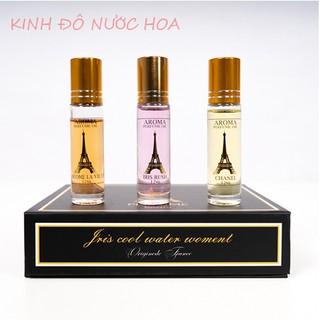 Nước hoa mini Aroma bỏ túi nguyên liệu nhập khẩu từ pháp dạng lăn 12ml thumbnail