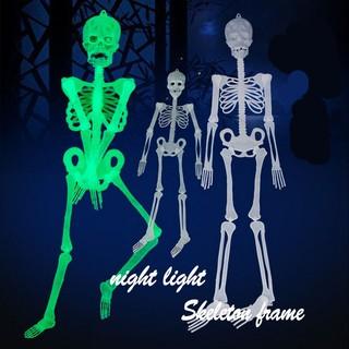 Đồ chơi hình bộ xương 30cm phát quang đáng sợ cho Halloween mã sp AE7619