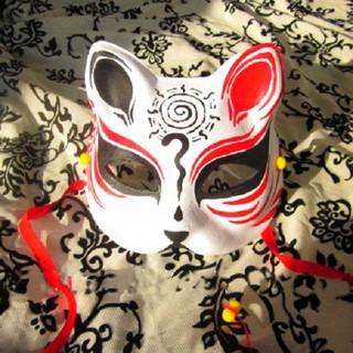 Mặt nạ mèo vẽ_06 (Mask fox-cosplay) shopgiarebatngo