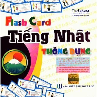 Flashcard Tiếng Nhật Thông Dụng (Hộp) - Tác giả The Sakura thumbnail