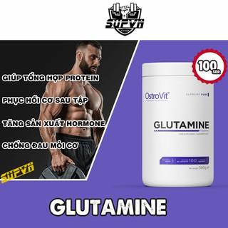Glutamine Ostrovit 100 lần dùng – Đơn chất Glutamine giúp giảm đau và phục hồi cơ nhanh chóng 500g