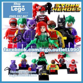 Xếp hình Lego Batman vs Joker Lego Minifigures POGO pg8032 thumbnail