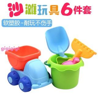 Bộ đồ chơi xe hơi bằng nhựa mềm cho trẻ em 1-3-5 tuổi Bộ đồ