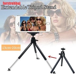 (FRJ-COD)Mini Extendable Tripod Stand For Digital Cameras Phone Portable 13-20cm Black