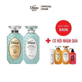 Combo Cặp Gội Xả Kiểm Soát Dầu Moist Diane Sữa tắm cung cấp ẩm và tươi mát làn da