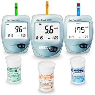 Máy đo đường huyết, mỡ máu, gout 3 in 1 Easy Touch ET322 thumbnail