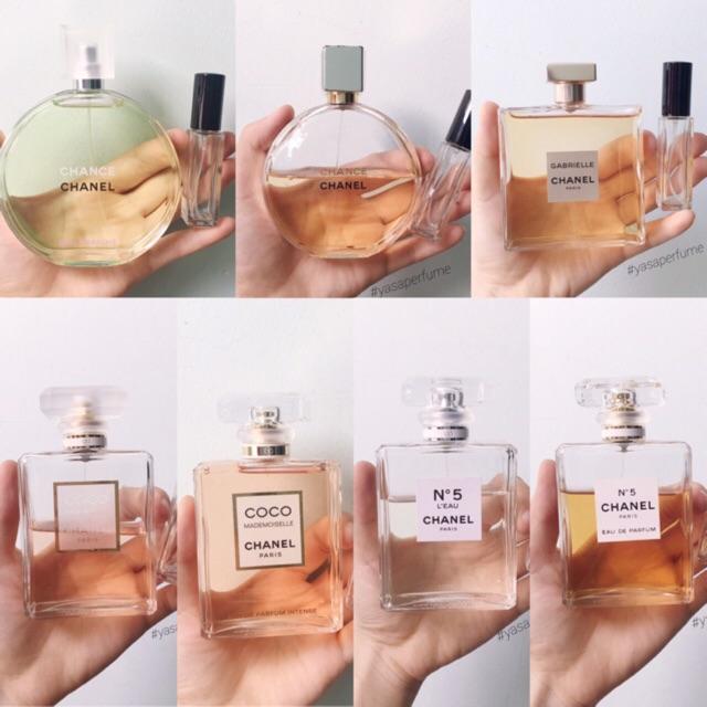 Chiết nước hoa Chanel nữ chính hãng (9ml)