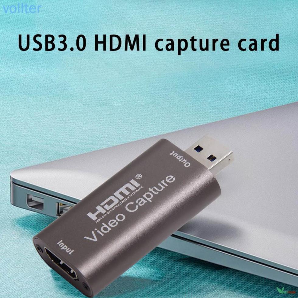 Capture card HD USB 3.0 dùng chuyển đổi video âm thanh HD 1080p 60fps Mã mới -DC4529