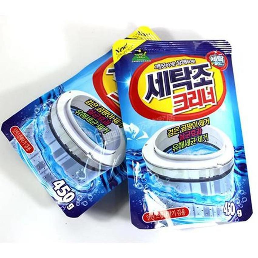Bộ 2 gói bột tẩy vệ sinh lồng máy giặt 450g công nghệ Hàn Quốc - 10059601 , 170338387 , 322_170338387 , 45000 , Bo-2-goi-bot-tay-ve-sinh-long-may-giat-450g-cong-nghe-Han-Quoc-322_170338387 , shopee.vn , Bộ 2 gói bột tẩy vệ sinh lồng máy giặt 450g công nghệ Hàn Quốc